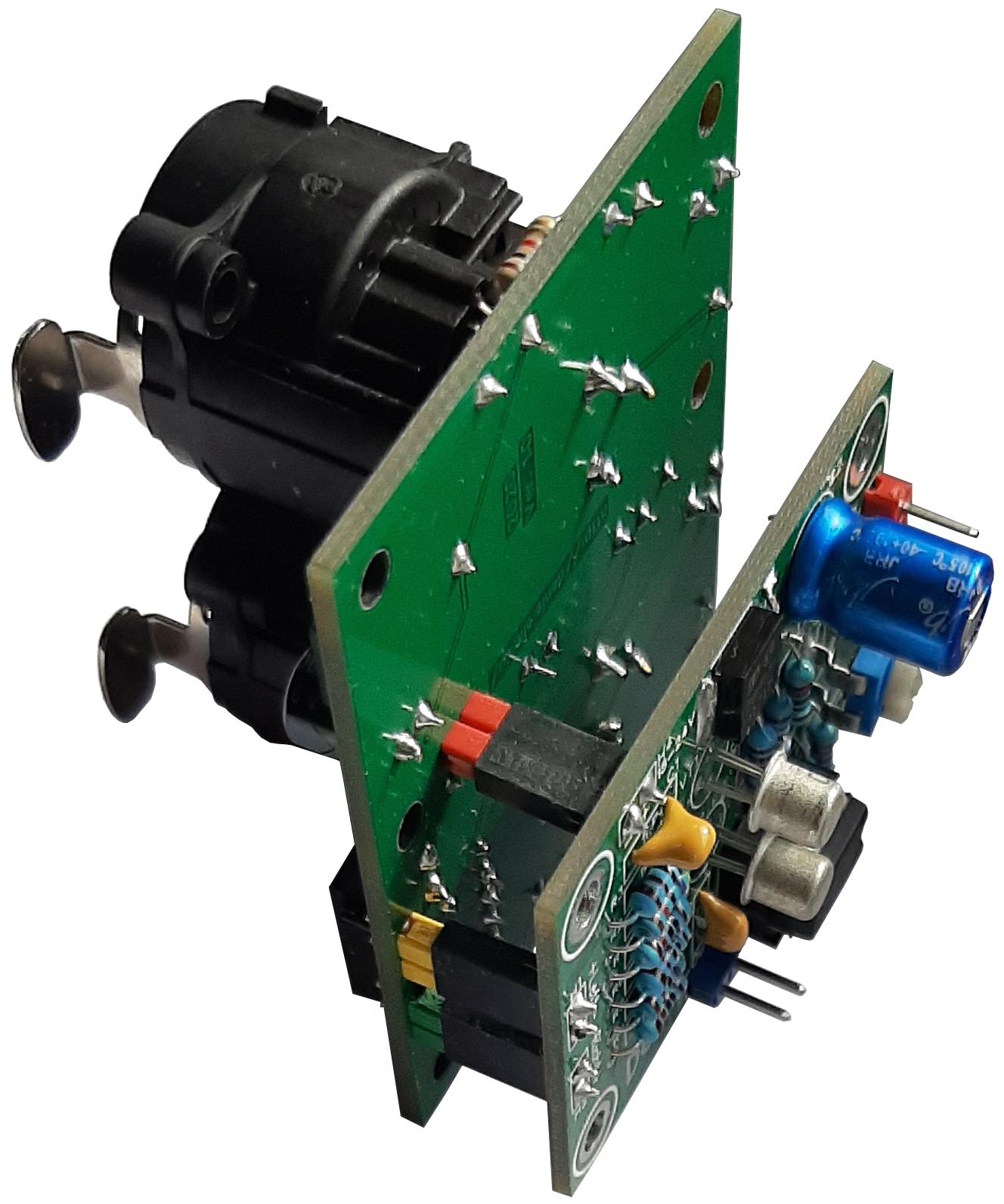 Совместная работа преобразователя балансного сигнала и сумматора каналов.